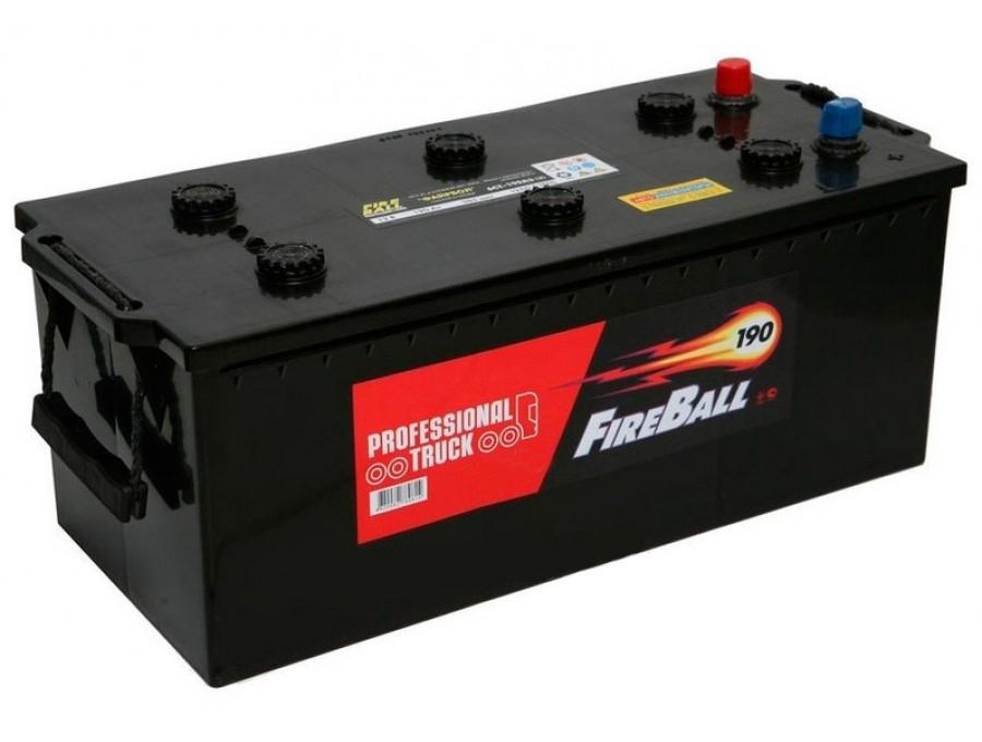 FIRE BALL Аккумуляторная батарея автомобильная 190 A/h обратная полярность