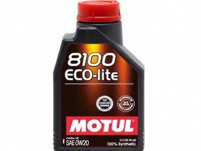 MOTUL Моторное масло 8100 Eco-lite SAE 0w20 1л Full-synthetic