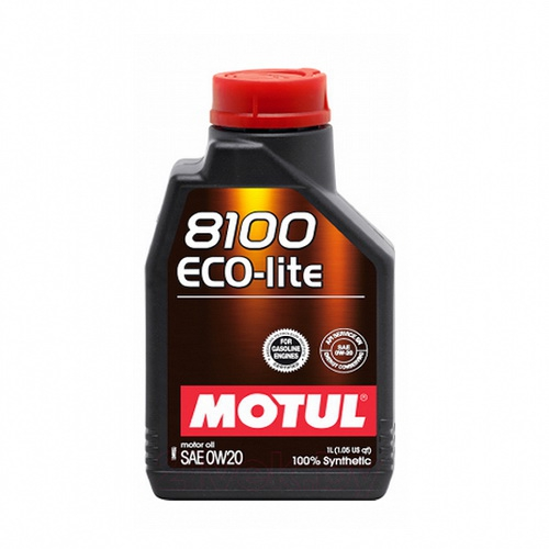 MOTUL Моторное масло 8100 Eco-lite SAE 0w20 1л Full-synthetic