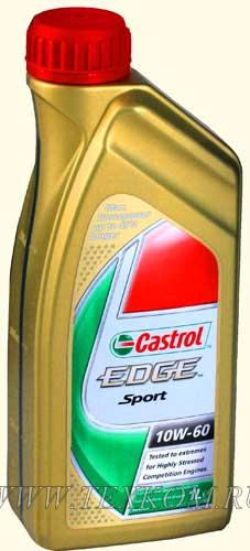 CASTROL Моторное масло Edge Sport SAE 10w60 1л Full-synthetic