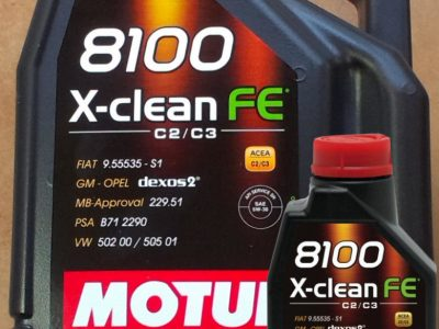 MOTUL Моторное масло 8100 X-Clean FE SAE 5w30 4л Full-synthetic