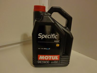 MOTUL Моторное масло Specific DEXOS2 SAE 5w30 5л Full-synthetic