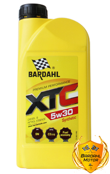 BARDAHL Моторное масло XTC SAE 5w30 1л Full-synthetic