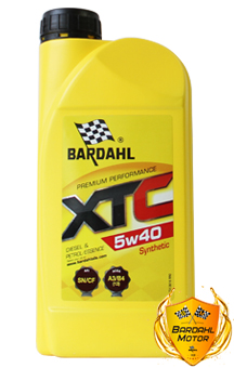 BARDAHL Моторное масло XTC SAE 5w40 1л Full-synthetic
