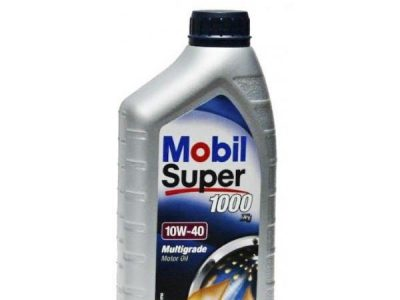 MOBIL Моторное масло Super 1000×1 SAE 10w40 1л Mineral oil