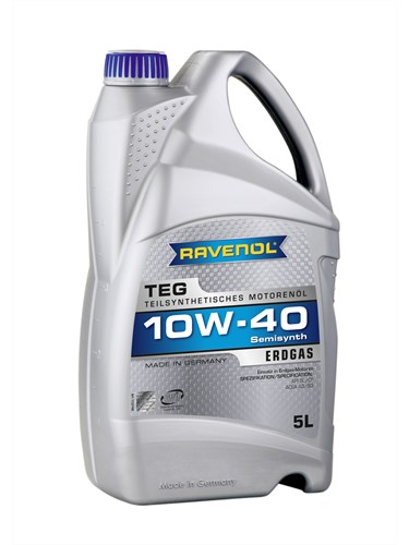 RAVENOL Моторное масло TEG SAE 10w40 5л Semi-synthetic