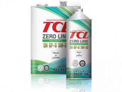 TCL Моторное масло Zero Line SAE 5w30 1л Full-synthetic