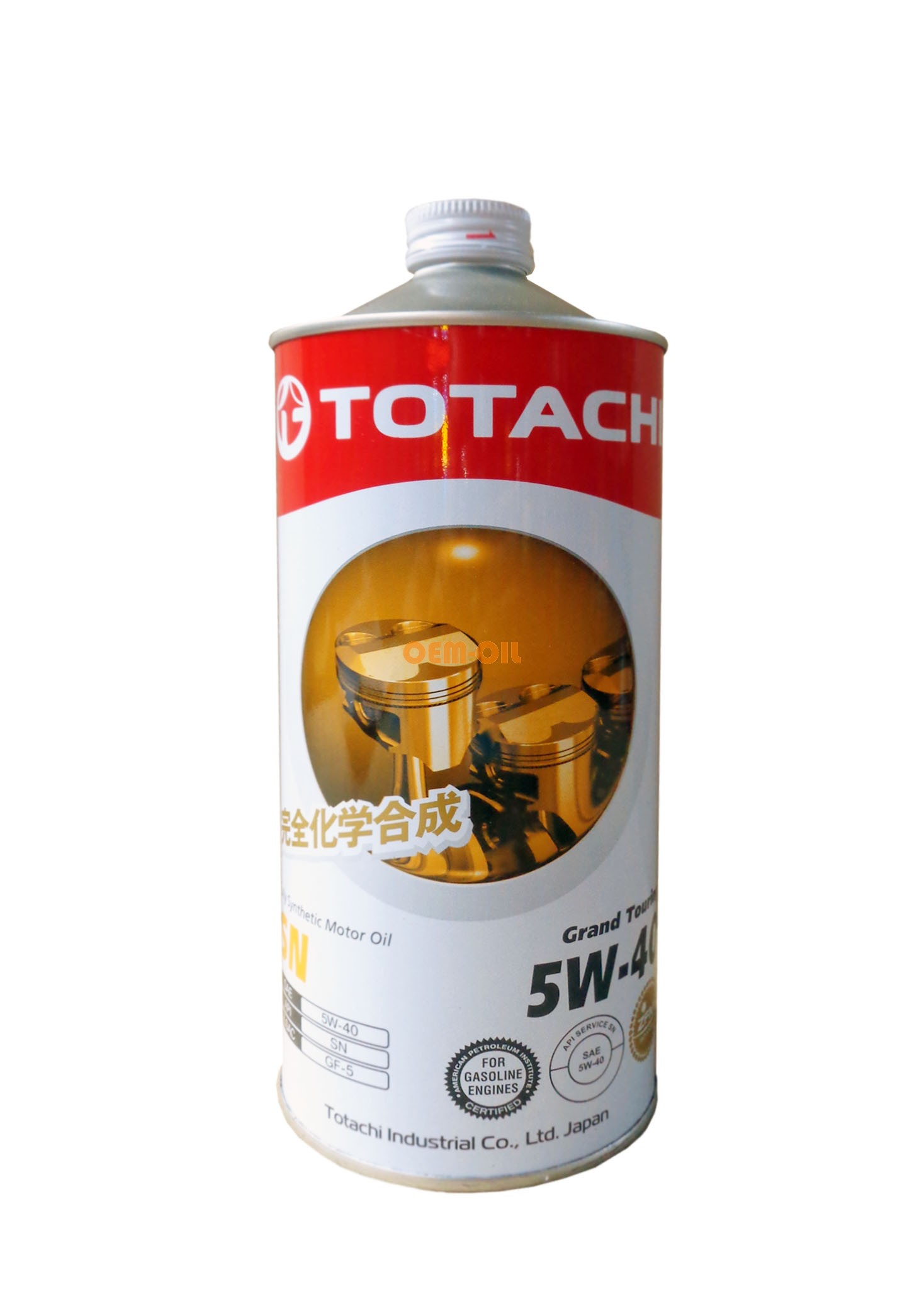TOTACHI Моторное масло Grand Touring SAE 5w40 1л Full-synthetic