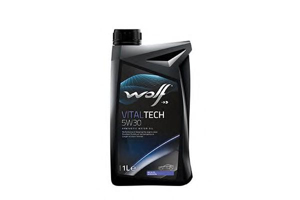 WOLF Моторное масло Vital Tech SAE 5w30 1л Full-synthetic