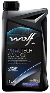 WOLF Моторное масло Vital Tech PI C3 SAE 5w40 1л Full-synthetic