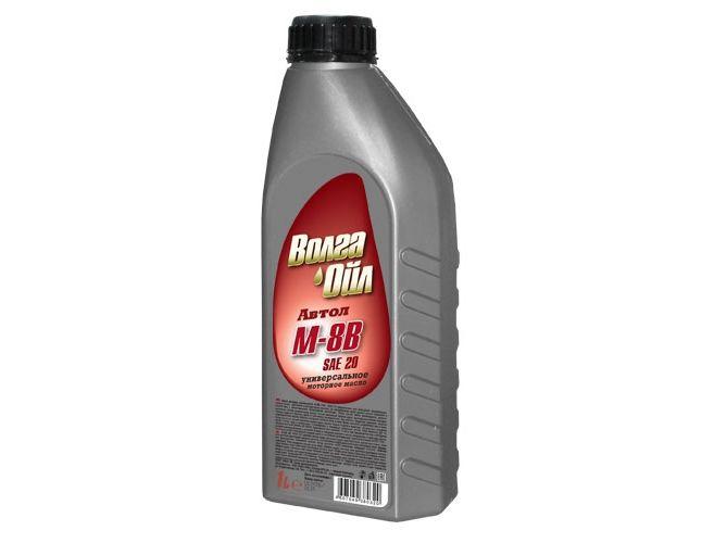 ВОЛГА-ОЙЛ Моторное масло М8В 1л Mineral oil