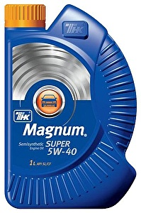 ТНК Моторное масло Magnum Super SAE 5w40 1л Semi-synthetic