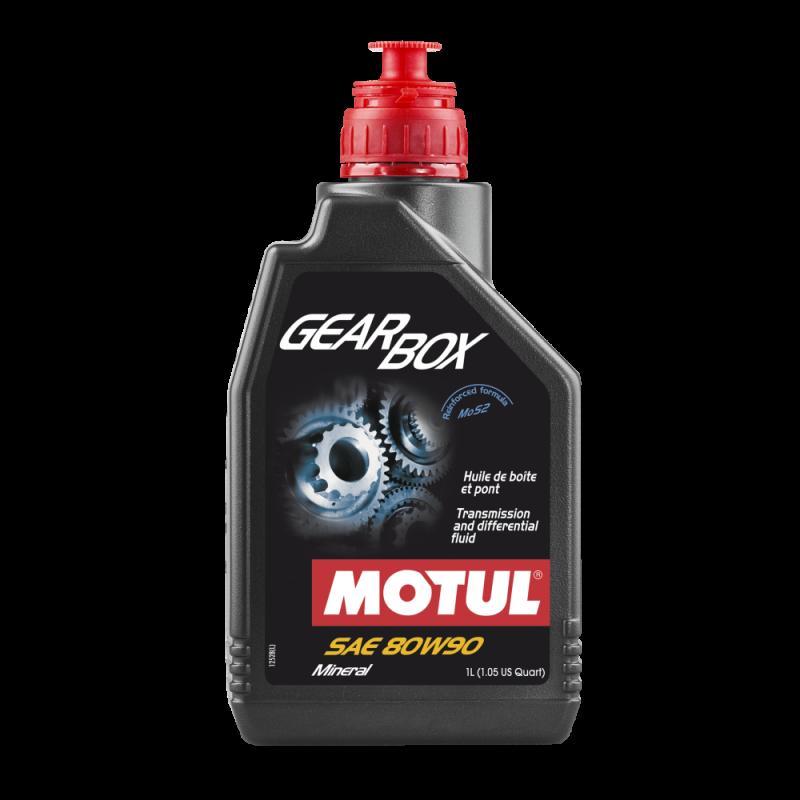MOTUL Трансмиссионное масло МКПП Gearbox SAE 80w90 1л Mineral oil
