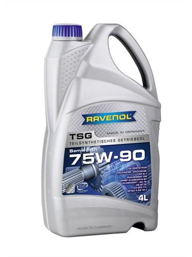 RAVENOL Трансмиссионное масло МКПП TSG SAE 75w90 4л Semi-synthetic