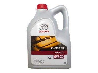 TOYOTA Моторное масло Motor Oil SAE 0w30 5л Full-synthetic