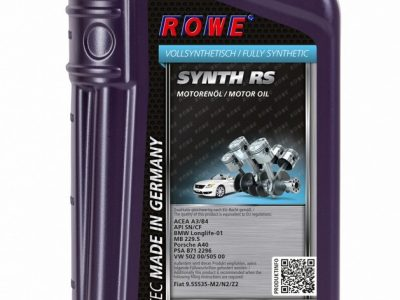 ROWE Моторное масло Hightec Synth RS SAE 0w40 1л Full-synthetic