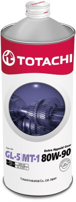 TOTACHI Трансмиссионное масло МКПП Extra Hypoid Gear MT-1 SAE 80w90 1л Mineral oil