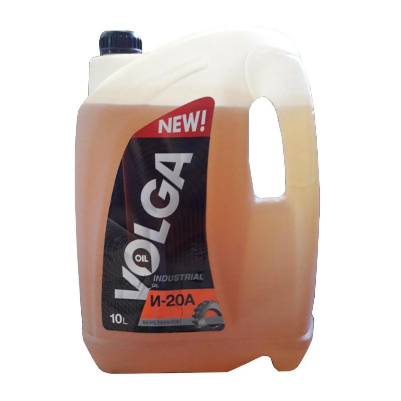 ВОЛГА-ОЙЛ Индустриальное масло И-20А 10л Mineral oil