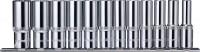 OMBRA Набор головок торцевых глубоких 12 гранных 1/2″DR на держателе, 10-24 мм, 12 предметов