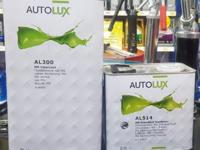 AUTOLUX Лак прозрачный MS 5л + отвердитель 2,5л