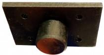 NORDBERG Насадка на лапу с металлическим основанием прямоугольная для подъемника N4120A-4T
