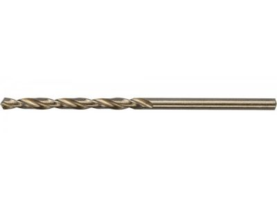 ЗУБР Сверло по металлу «Кобальт», цилиндрический хвостик, 3.0х61 мм