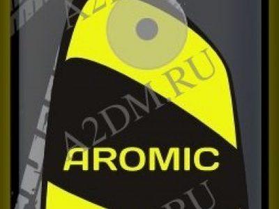 A2DM Ароматизатор картонный НА ПРИСОСКЕ флуоресцентный ESSENCE «ЭССЕНС» (желтый)