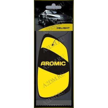 A2DM Ароматизатор картонный ПОДВЕСНОЙ флуоресцентный ESSENCE «ЭССЕНС» (желтый)