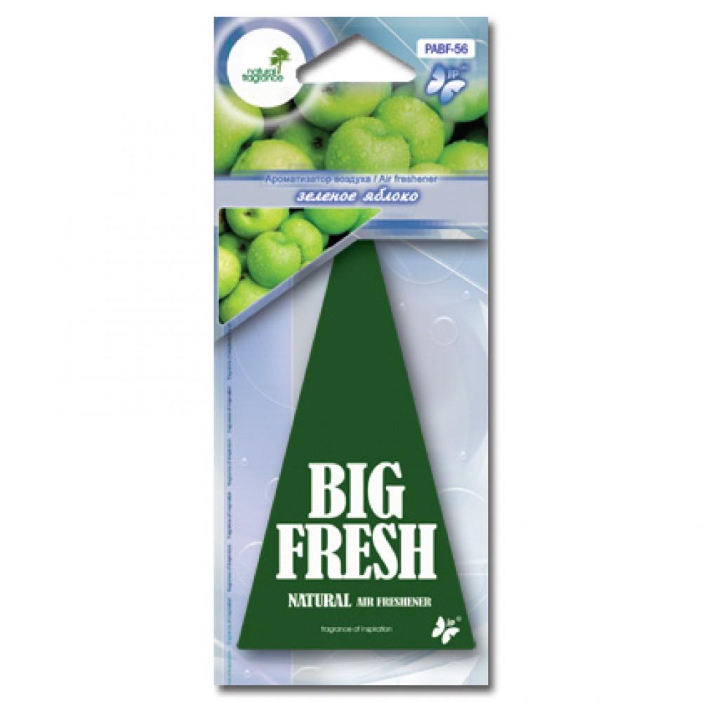BIG FRESH Ароматизатор ёлочка Зеленое яблоко