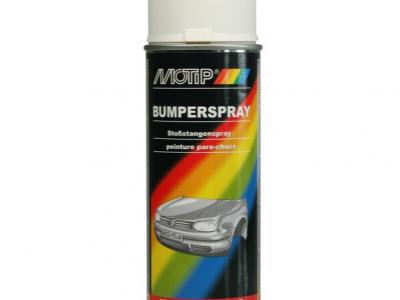 MOTIP Автоэмаль для бампера Белая, 0,52л