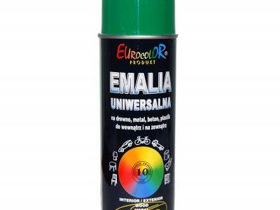 EUROCOLOR Автоэмаль для фонарей Зеленая, 0,52л
