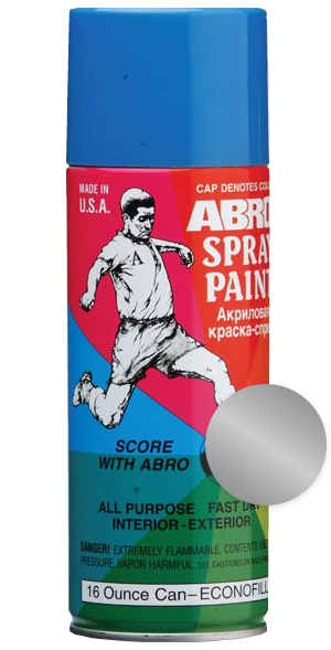 ABRO Автоэмаль Супер хром, 0,4л