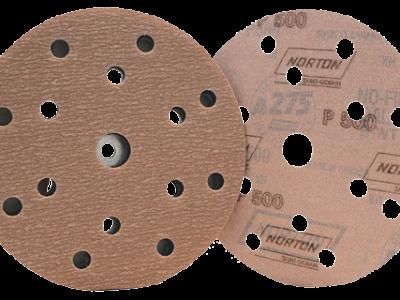 NORTON Шлифовальный круг PRO A275 15 отверстий 150 мм, P500