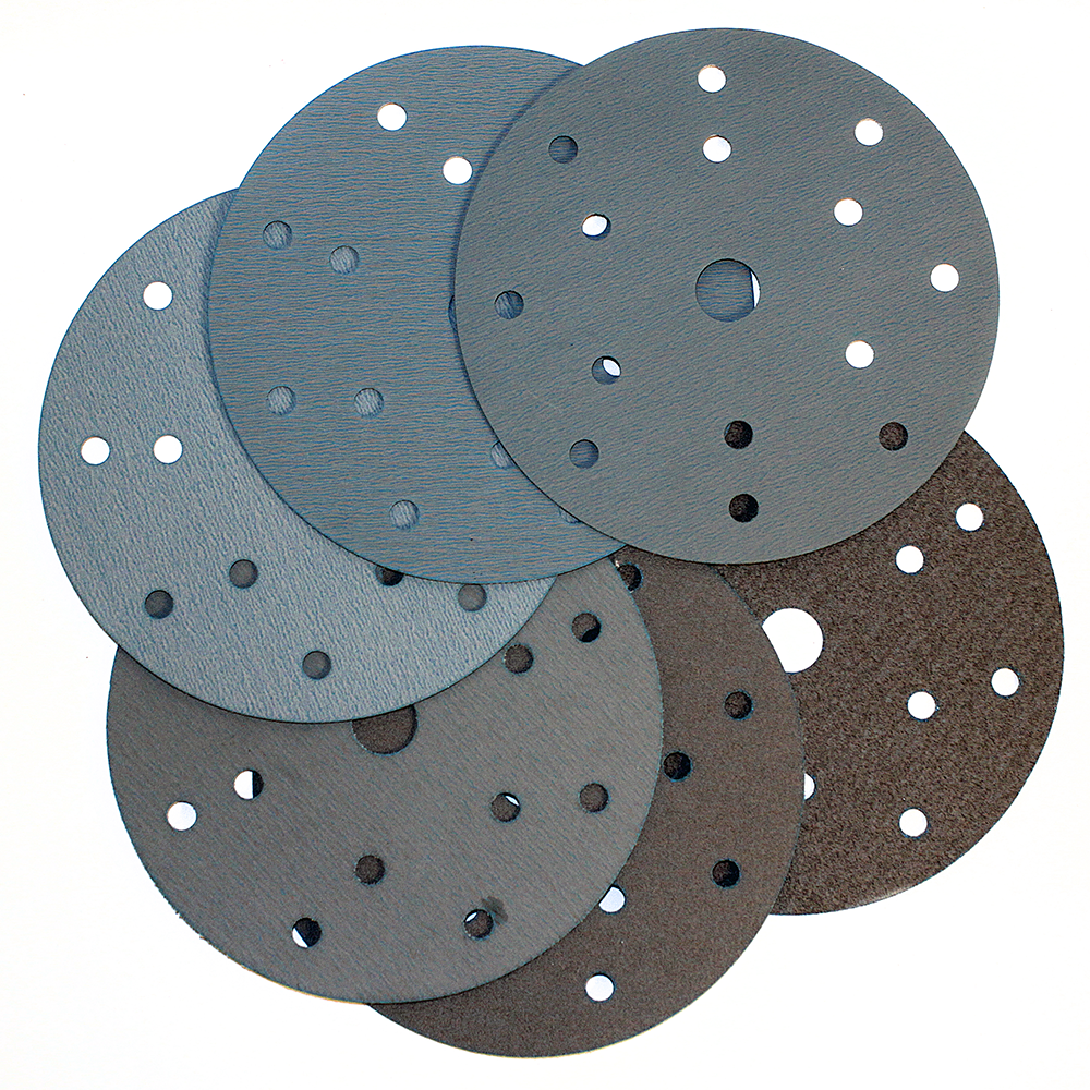 RADEX PLATINUM Абразивный круг на пленке 15 отверстий 150мм, Р240
