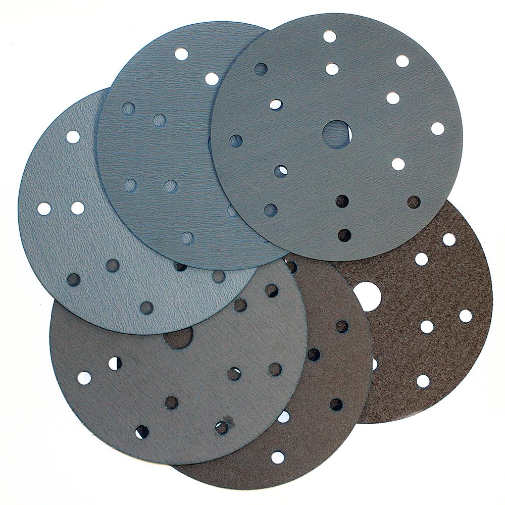 RADEX PLATINUM Абразивный круг на пленке 15 отверстий 150мм, Р280