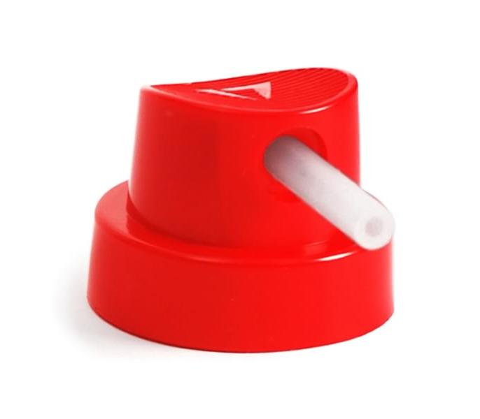 MONTANA Кеп Skinny красный с трубкой белой 0,4-1,2см 1уп*50шт