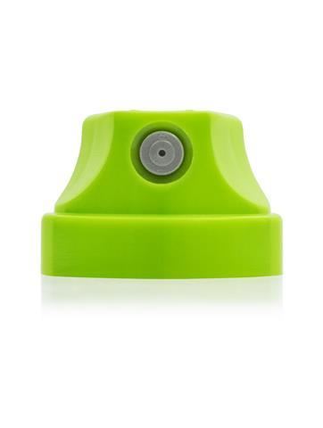 MONTANA Кэп зеленый с черной вставкой 0,6-2,5см 1уп*50шт (серая вставка)