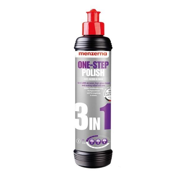 MENZERNA Среднеабразивная доводочная полировальная паста One step polish 3 in 1, 0,25л