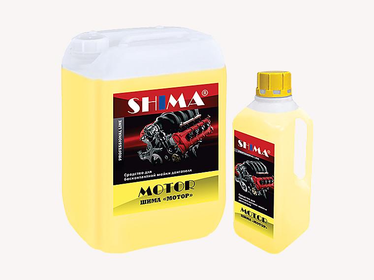 SHIMA MOTOR Профессиональное средство для мойки ДВС 5л