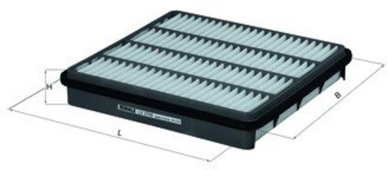 KNECHT Фильтр воздушный LX 2750