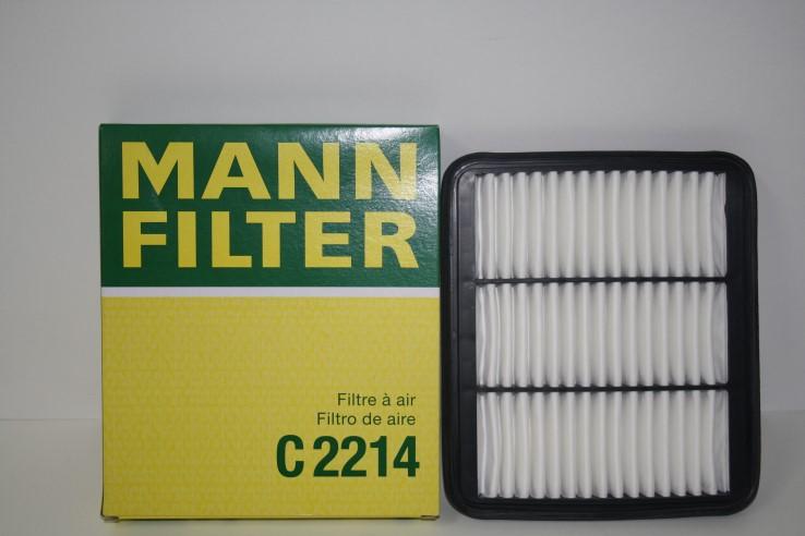 MANN Воздушный фильтр C 2214