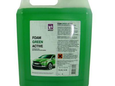 HOLEX Активная пена для бесконтактной мойки Foam Green Active, 6л