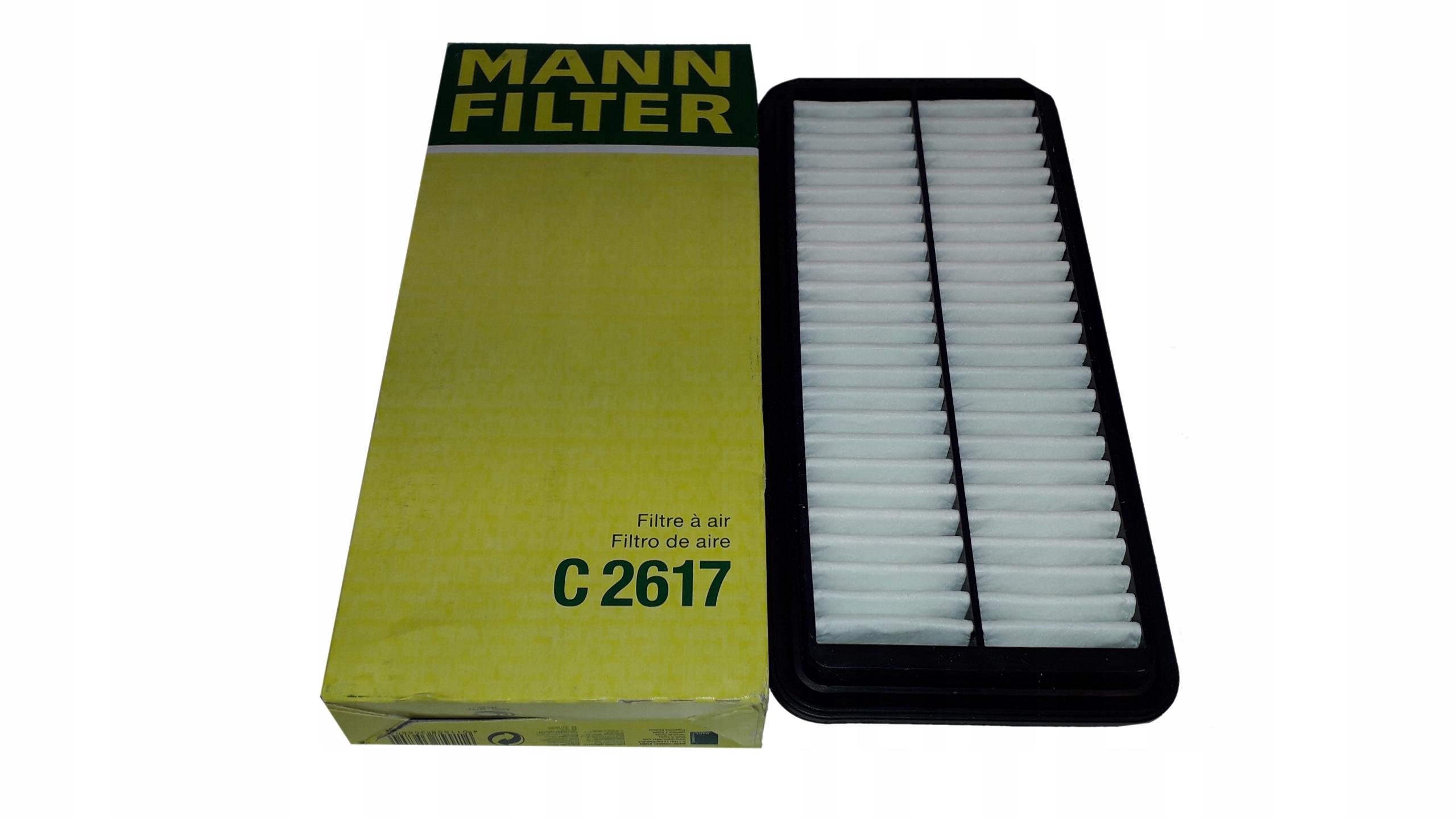 MANN Воздушный фильтр C 2617