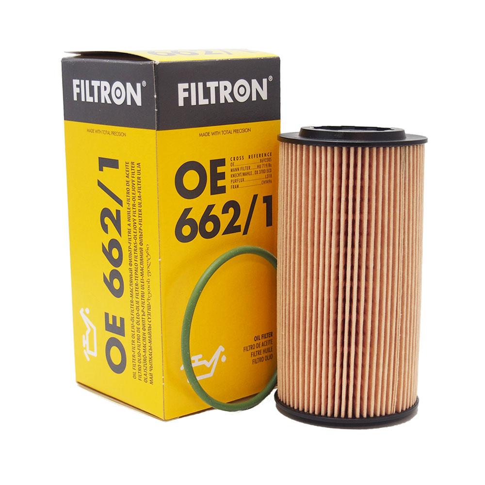 FILTRON Фильтр маслянный OE 662/1