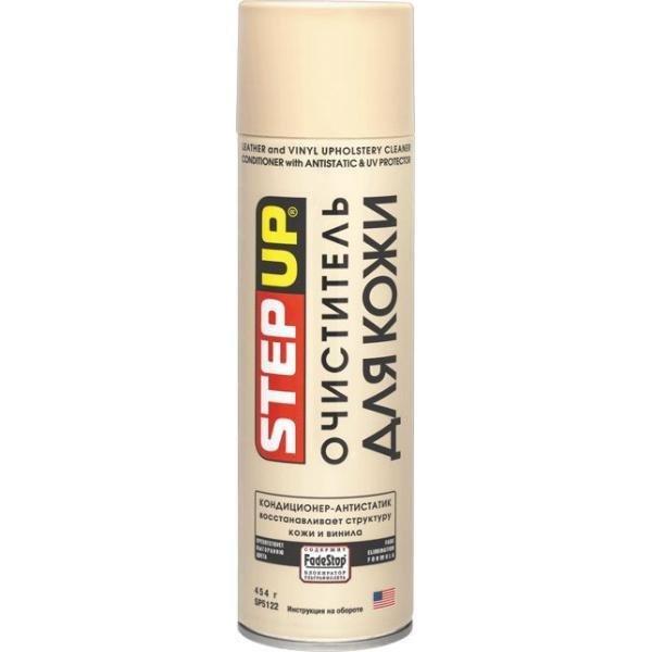 STEP-UP Очиститель для кожи кондиционер-антистатик, 0,454л