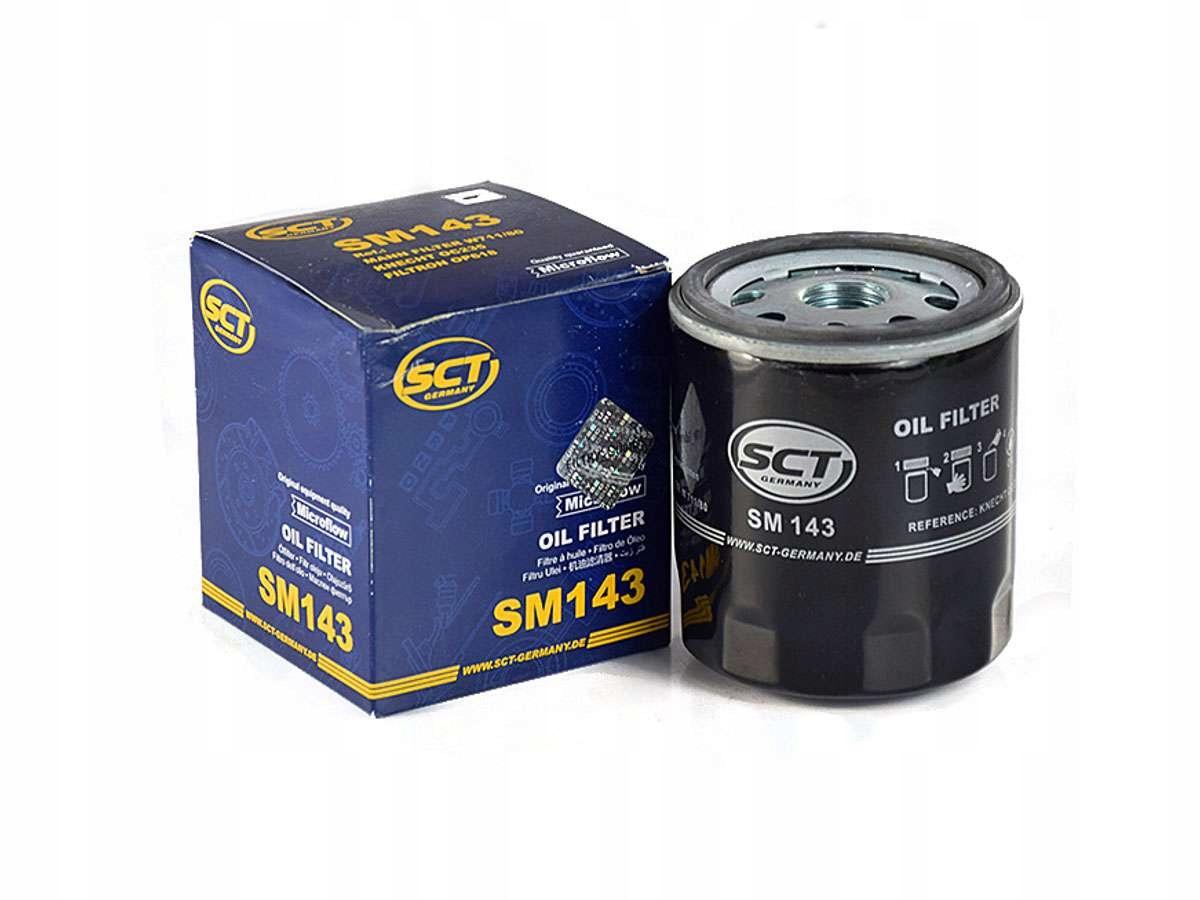 SCT Фильтр масляный SM 143