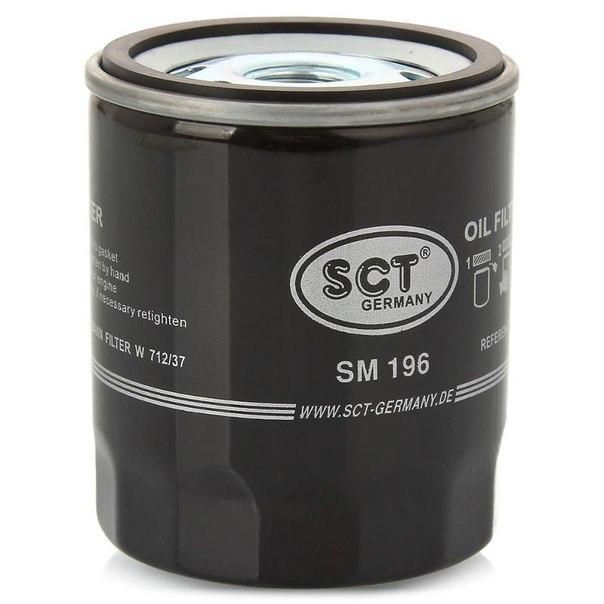 SCT Фильтр масляный SM 196