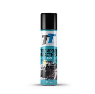 TT Полироль пластика Aqua Лимон 0,335л