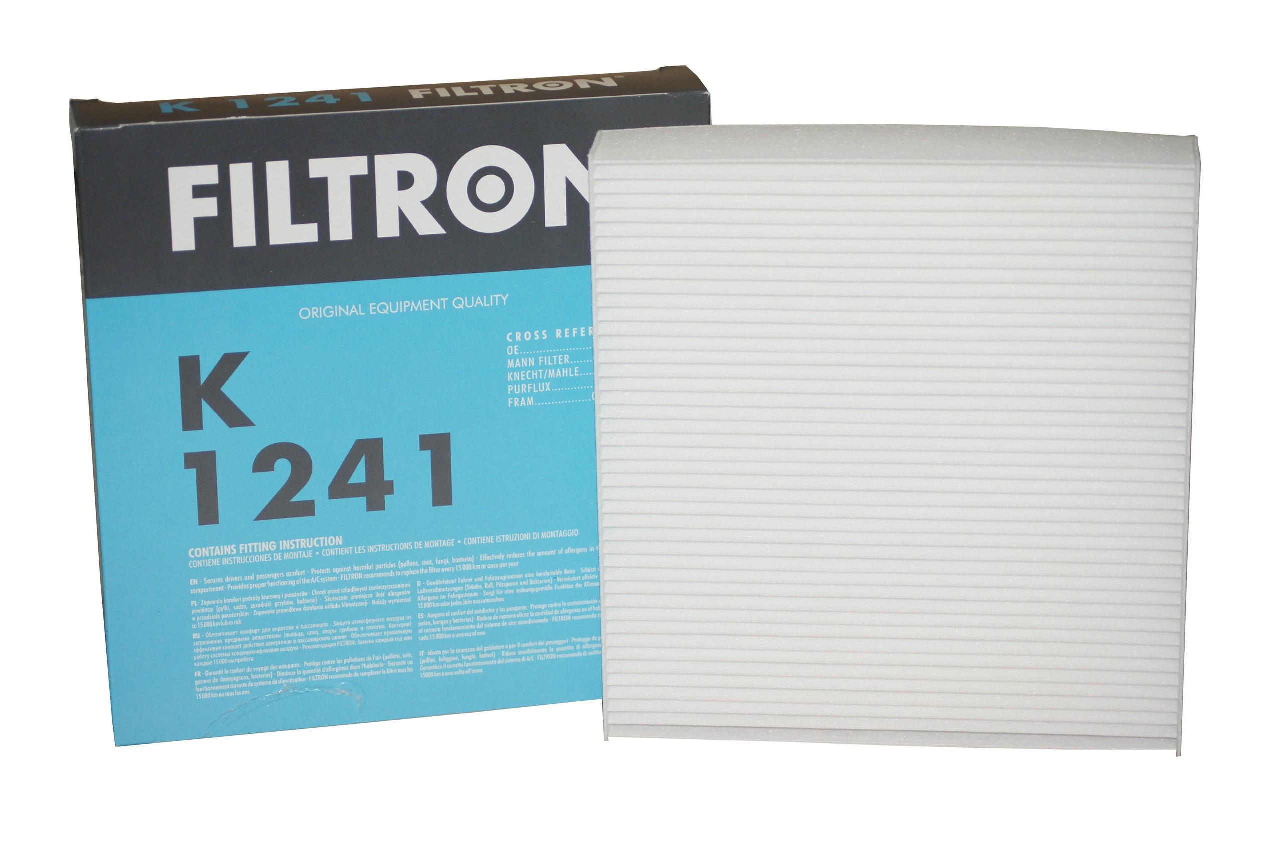 FILTRON Фильтр салона K 1241