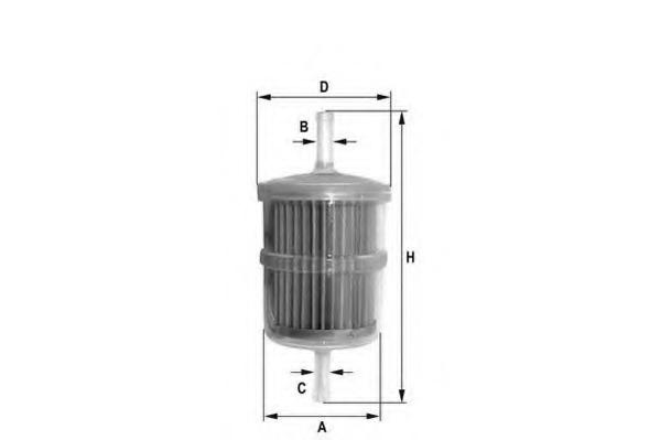 ACDELCO Фильтр топливный FS9108E